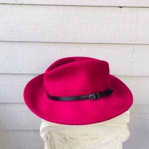 Anthropologie Wool Felted Festival Wide Brim Hat